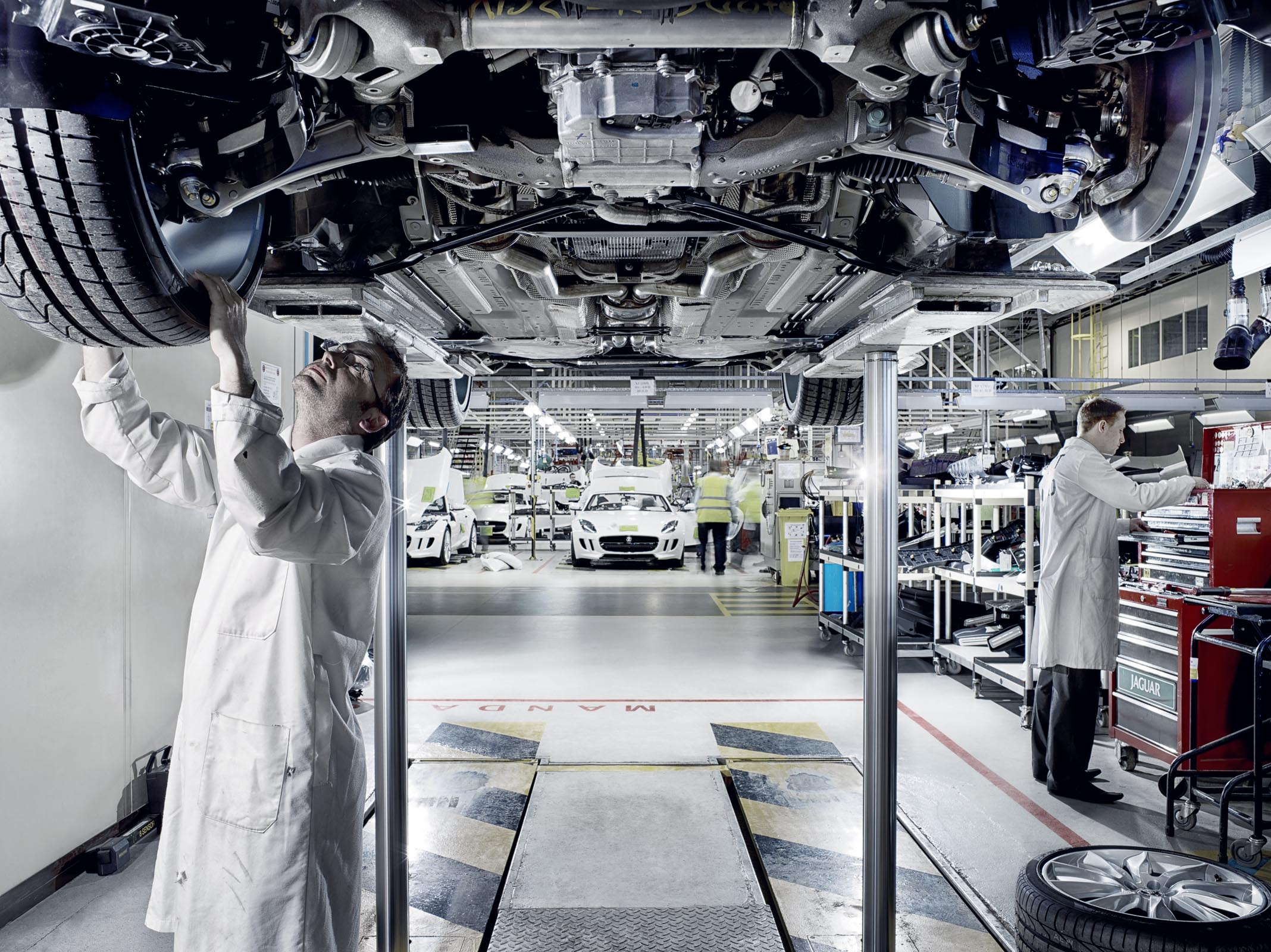 F Type Factory Manufacturing