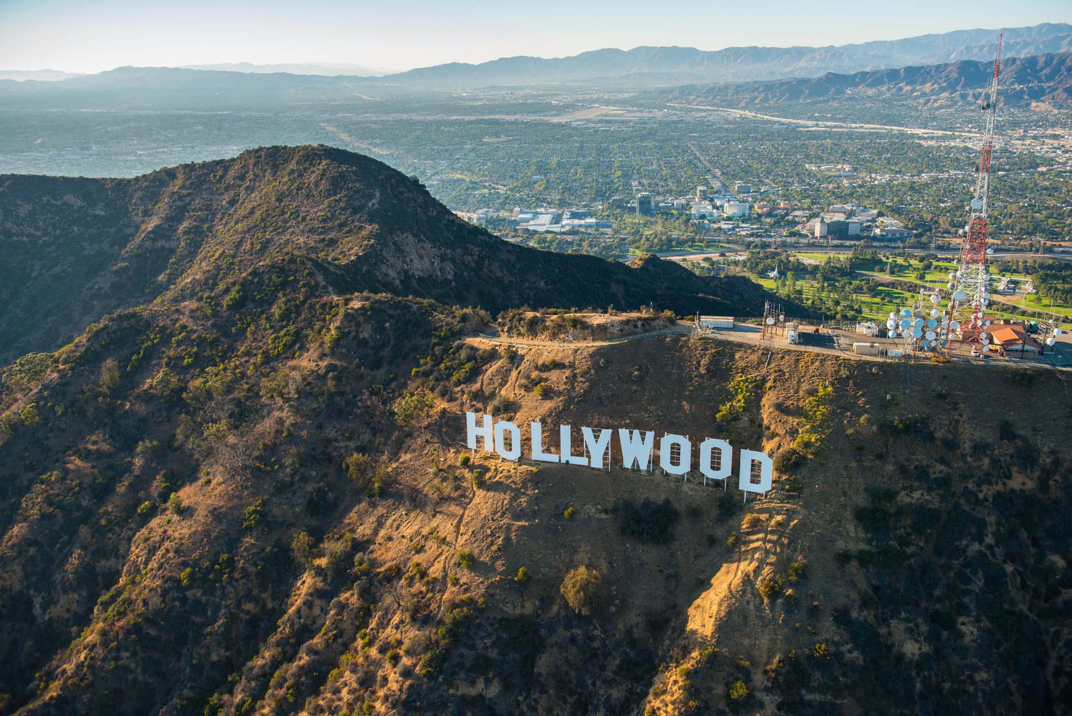 JH Hollywood sign